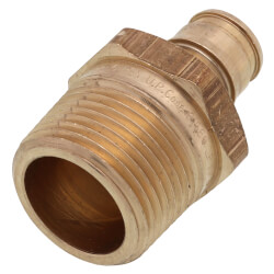 "1/2"" ProPEX x 3/4"" NPT Lead Free Brass Male Adapter"