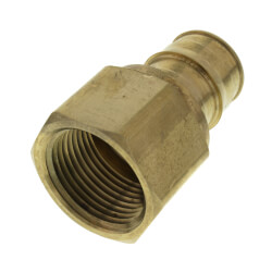 "1"" ProPEX x 1"" NPT Lead Free Brass Female Adapter"