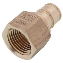 "1/2"" ProPEX Lead Free Brass Female Adapter Product Image"