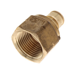 "1/2"" ProPEX x 3/4"" NPT Lead Free Brass Female Adapter Product Image"