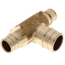 """3/4"""" x 3/4"""" x 1"""" ProPEX Lead Free Brass Reducing Tee Product Image"""