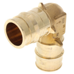 "1"" ProPEX Lead Free Brass 90° Elbow Product Image"