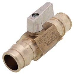 "3/4"" ProPEX Brass Ball Valve (Large Bore)"