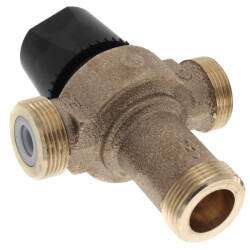 "1/2"" NPT Female HydroGuard Thermostatic Tempering Vlv (80°- 120°F) Product Image"