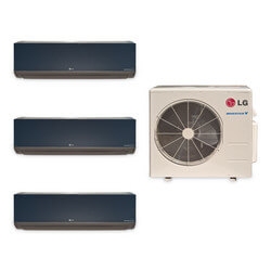 3 Zone Heat-Cool Multi-Split Art Cool Package - (3)LMAN127HVT & (1)LMU369HV - 34,000 BTU