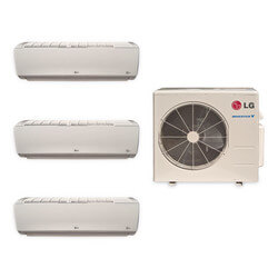3 Zone Heat-Cool Multi-Split Standard Package - (3)LMN127HVT& (1)LMU369HV - 34,000 BTU
