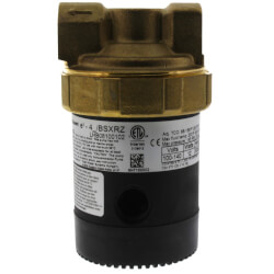 "Brass Ecocirc UltraCirc Circulator w/ Multi-Speed & Plug (1/2"" Union)"