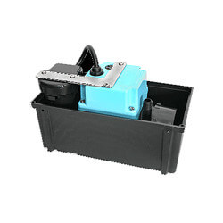 "2-ABS, 230 V, 1/4"" Discharge Shallow Pan Condensate Removal Pump"