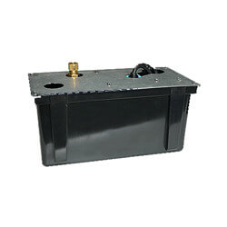 """3-ABS, 230 V, 1/2"""" Discharge Shallow Pan Condensate Removal Pump"""