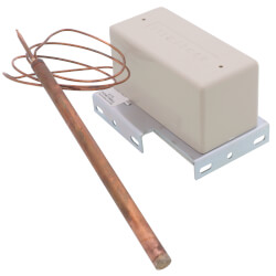Pneumatic Remote Bulb Thermostat Direct Acting for Fan Coils (65°F to 85°F) Product Image