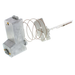 Direct Acting Pneumatic Temperature Controller w/ 2 pipes