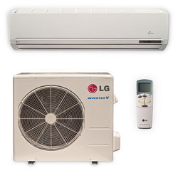 30,000 BTU Ductless Single Zone Mini-Split Heat Pump & Air Conditioner  Inverter Package
