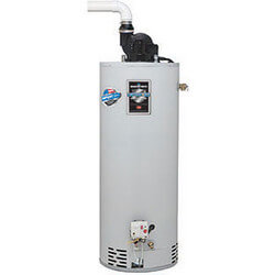 50 Gallon - 38,000 BTU Defender Safety System TTW1 Power Vent Energy Saver Residential Water Heater (LP Gas)