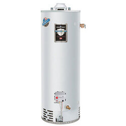 65 Gallon - 63,000 BTU Defender Safety System Extra Recovery Energy Saver Residential Water Heater (LP Gas)