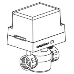 "3/4"" Sweat 2-Way Zone Valve"