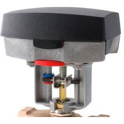 24V Forta NSR Globe<br>Valve Actuator 90 lbf Torque w/ 2 SPDT Aux. Switches Product Image