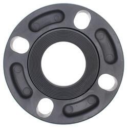 "2"" CPVC Sch. 80 Van Stone Flange w/ Plastic Ring (Socket x Multi Bolt) Product Image"