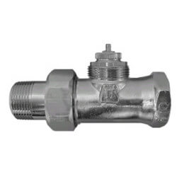 """1/2"""" Threaded x Male Union Straight Valve with Straight Nipple (9000175) Product Image"""