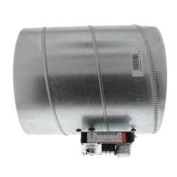 "12"" Round<br>Modulating Damper Product Image"