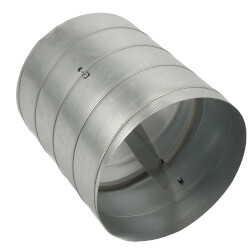 "18"" Round<br>Modulating Damper Product Image"