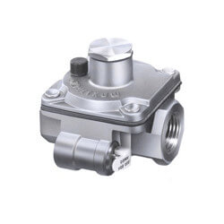 "1/8"" Poppet Style Gas Regulator LT model (25,000 BTU) 1-3.5"" Out"