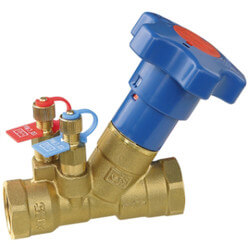 "1"" NPT STV Low Lead Manual Balancing Valve Product Image"