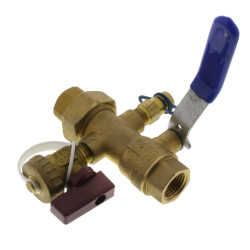 "1/2"" FPNT SB Union End Balancing Ball Valve Product Image"