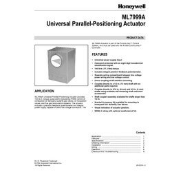 ML7999A Universal Parallel-Positioning Actuator, 100 lb-in Product Image