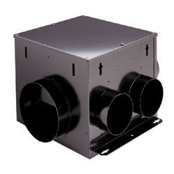 "MP100 Multi-Port<br>Remote In-Line Vent Fan 6"" Round Duct, 110 CFM Product Image"