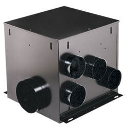 "MP280 Multi-Port<br>Remote In-Line Vent Fan 6"" Round Duct, 290 CFM Product Image"