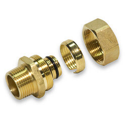 "3/4"" PEX-AL-PEX Compression Fitting"