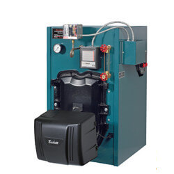 MST396 96,000 BTU Output, 396 Sq. Ft. Steam Boiler w/o Tankless Coil (Oil)