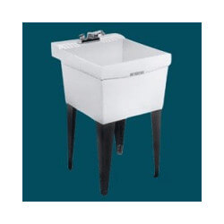 Laundry Sink Wall Mount : M18W - null M18W - Durastone Utilatub Laundry/Utility Tub - Wall Mount