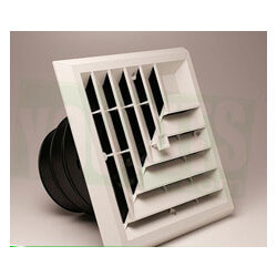 "Airtec MV4 Ceiling Diffuser w/ 4 Way Grille/ Damper/ Box (6, 7, 8"")"