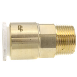 "3/4"" CTS x 3/4"" NPT Speedfit Brass Male Connector (Low Lead) Product Image"