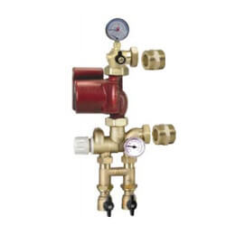 Thermostatic Mixing Station w/ Alpha 25-55U Pump Product Image
