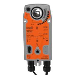 SR On/Off Damper Actuator, Direct Coupled<br>24 to 240V, 2 SPDT Product Image