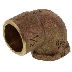 "1/2"" x 3/8"" CxF 90° Elbow (Lead Free) Product Image"