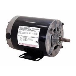 "6-1/2"" Split Ph. Rigid Base Sleeve Bearing Motor (115V, 1725 RPM, 1/3 HP) Product Image"