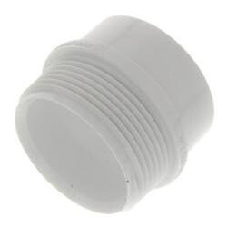 "1-1/2"" PVC DWV Male Trap Adapter (Spigot x Slip)"