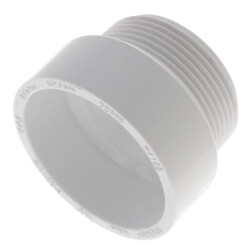 "1-1/2"" PVC DWV<br>Male Adapter Product Image"
