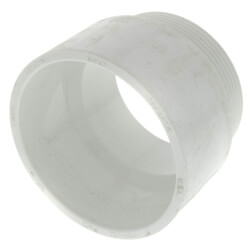 "3"" PVC DWV Male Adapter Product Image"