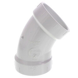 "2"" PVC DWV 45° Elbow Product Image"