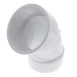 "3"" PVC DWV 45° Elbow Product Image"