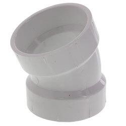 """2"""" PVC DWV 22.5° Elbow"""