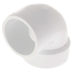 "1-1/2"" PVC DWV<br>90° Street Vent Elbow Product Image"