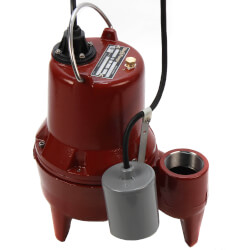 """1/2 HP Sewage Pump Sys. 115V, 2"""" Discharge 21"""" x 30"""" Basin w/ ALM-2 Product Image"""