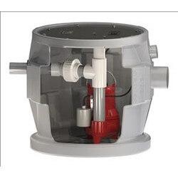 "1/2 HP Sewage Pump System w/ Alarm - 115v<br>2"" Side Discharge, 25' Cord Product Image"