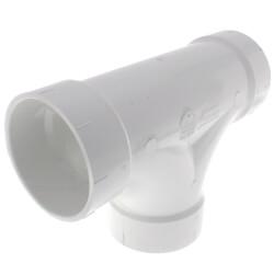 "4"" PVC DWV 2-Way Cleanout Tee"