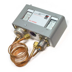 Single Pole High Pressure Control w/ Manual Reset, 50-500 PSIG Product Image